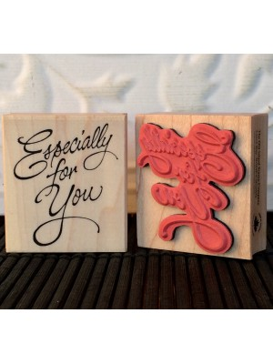 Especially for You Rubber Stamp
