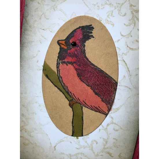 Cardinal Rubber Stamp