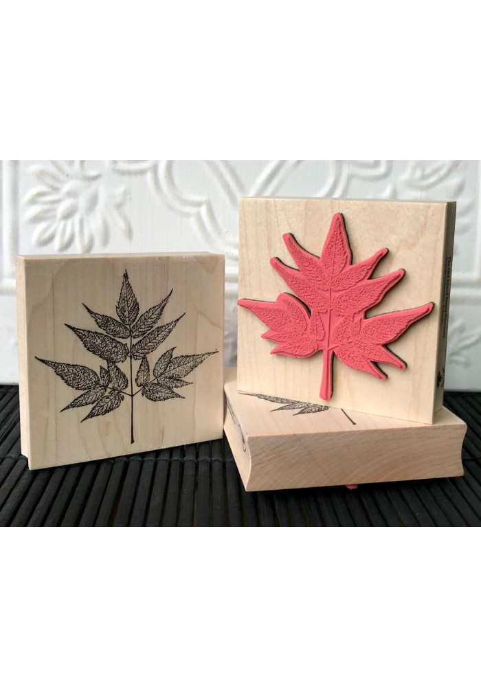 Goat's Beard Rubber Stamp