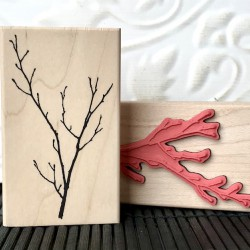 Bud Bough Used Rubberstamp View All Photos