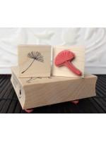 Dandelion seed Rubber Stamp