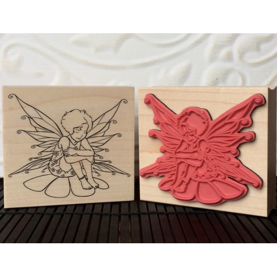 Fairy Rubber Stamp