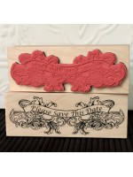 Please Save This Date Rubber Stamp