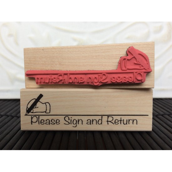 Please Sign and Return Rubber Stamp