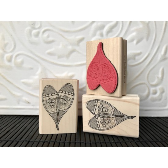 Snowshoes Rubber Stamp