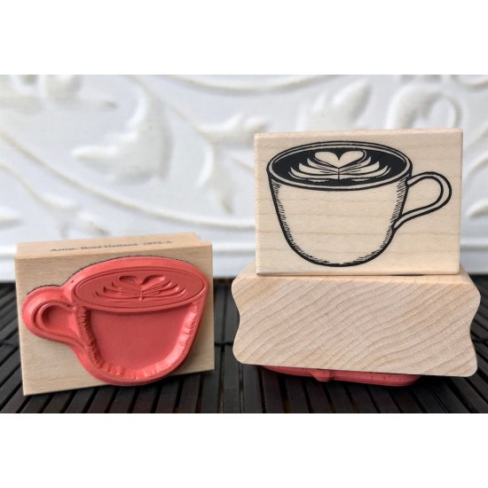 Whole Latte Love Rubber Stamp
