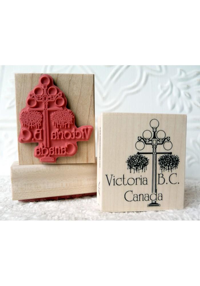 Victoria B.C. Rubber Stamp
