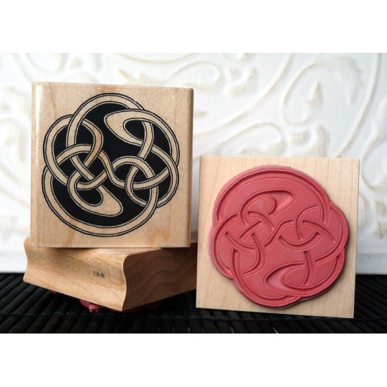 Neo-Celtic Rubber Stamp
