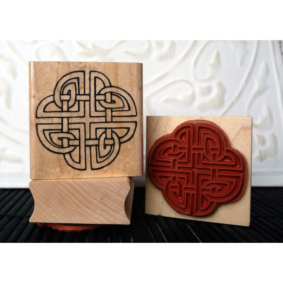 Viking Knot Rubber Stamp