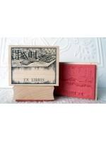 Ex Libris Rubber Stamp