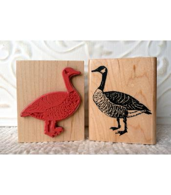 Canada Goose Rubber Stamp