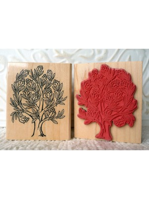 Tree of Life Rubber Stamp