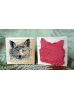 Coyote Rubber Stamp