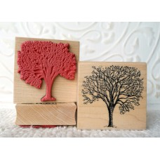 Cherry Tree Rubber Stamp