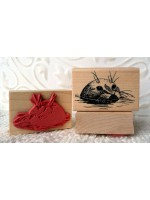 Harbour Seal Rubber Stamp
