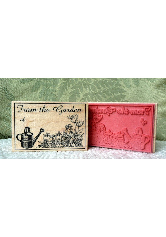 From the Garden of Rubber Stamp