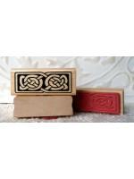 Viking Ornament Rubber Stamp