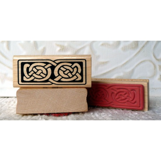 Viking Ornament Rubber Stamp