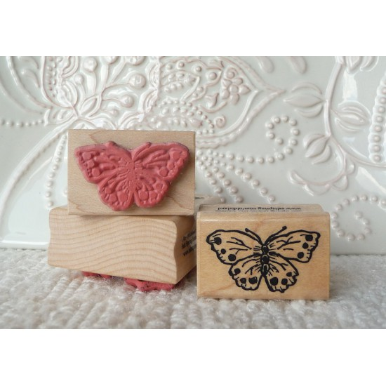 Little Butterfly Rubber Stamp