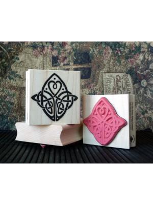 Celtic Love Knot Rubber Stamp