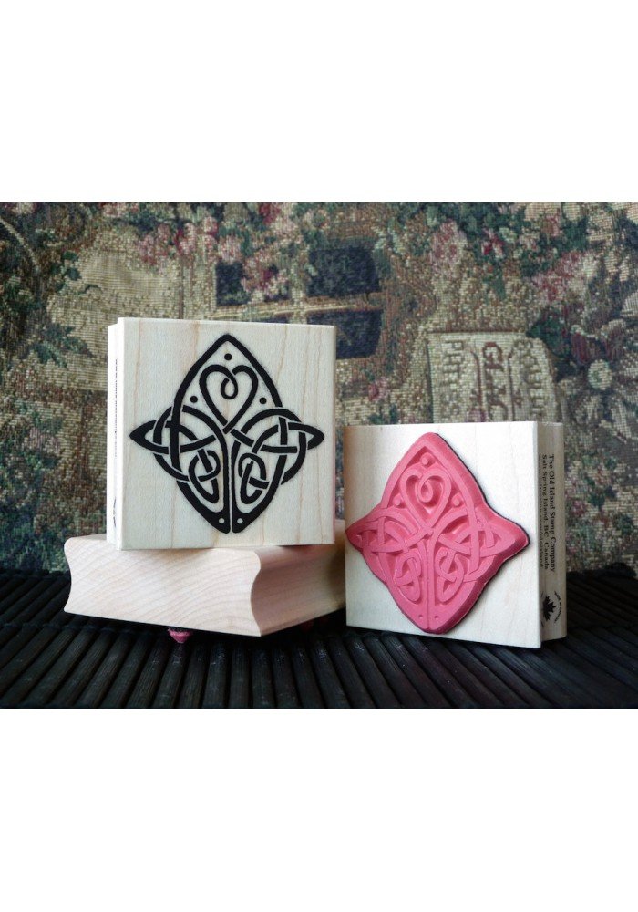 Celtic Love Knot Rubber Stamp