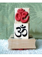 OM Symbol Rubber Stamp