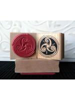 Triskele Rubber Stamp