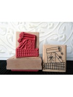 Presents Rubber Stamp