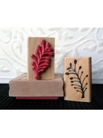 Buds Rubber Stamp