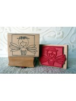 Ms. Fairy Rubber Stamp