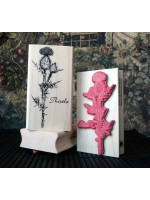 Thistle Rubber Stamp