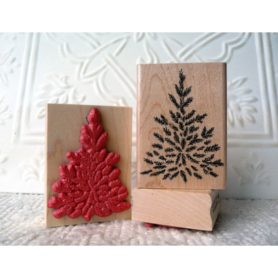 Steve's Tree Rubber Stamp