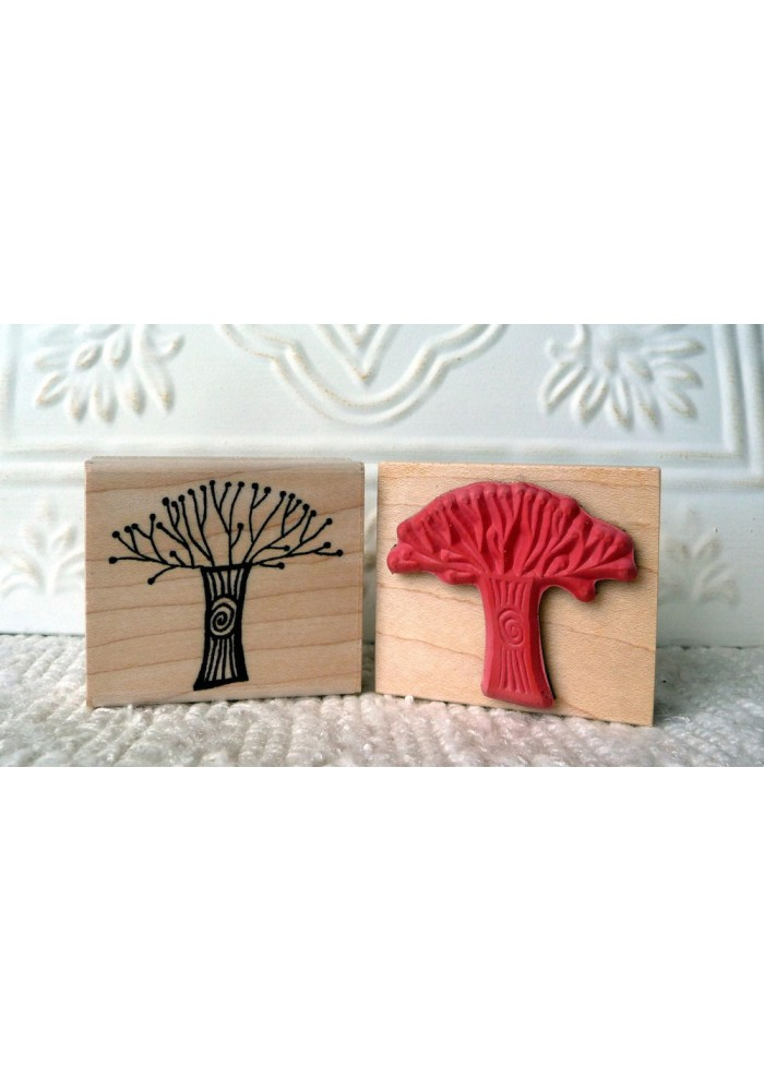 My First Tree Rubber Stamp