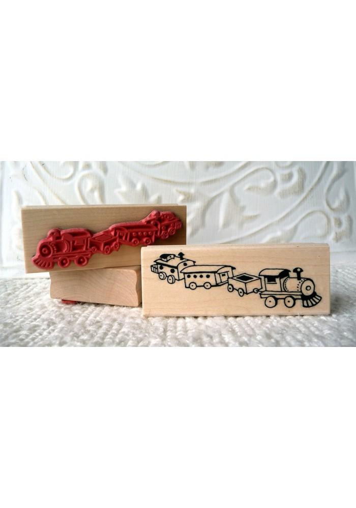 Choo-choo Train Rubber Stamp