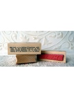 Joy Definition Rubber Stamp