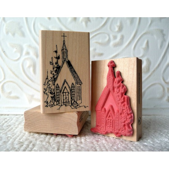 Church Rubber Stamp
