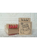 ho!ho!ho! Rubber Stamp