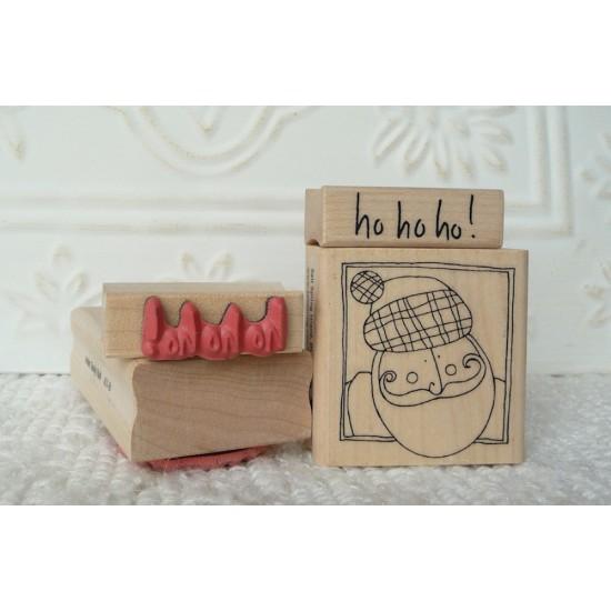 ho!ho!ho! Rubber Stamp