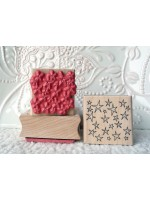Background Stars Rubber Stamp