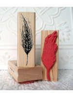 Wheat Rubber Stamp