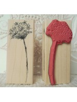 Lacey - Queen Anne's Lace Rubber Stamp