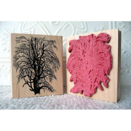 Tree section Rubber Stamp