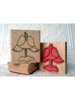 Angel on a Cloud Rubber Stamp