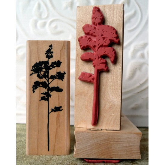 Silhouette Tree Rubber Stamp