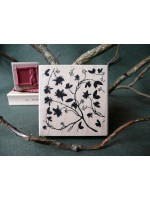 Secret Garden Rubber Stamp