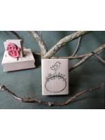 Sweet Little Bird Rubber Stamp