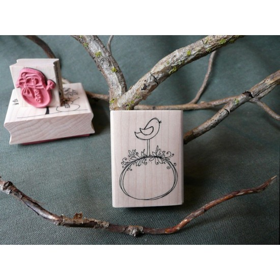 Sweet Little Bird Rubber Stamp