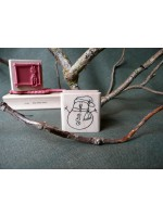 Mini Snowman Rubber Stamp