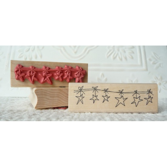 Starlight Rubber Stamp