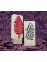 Tall Tree Rubber Stamp